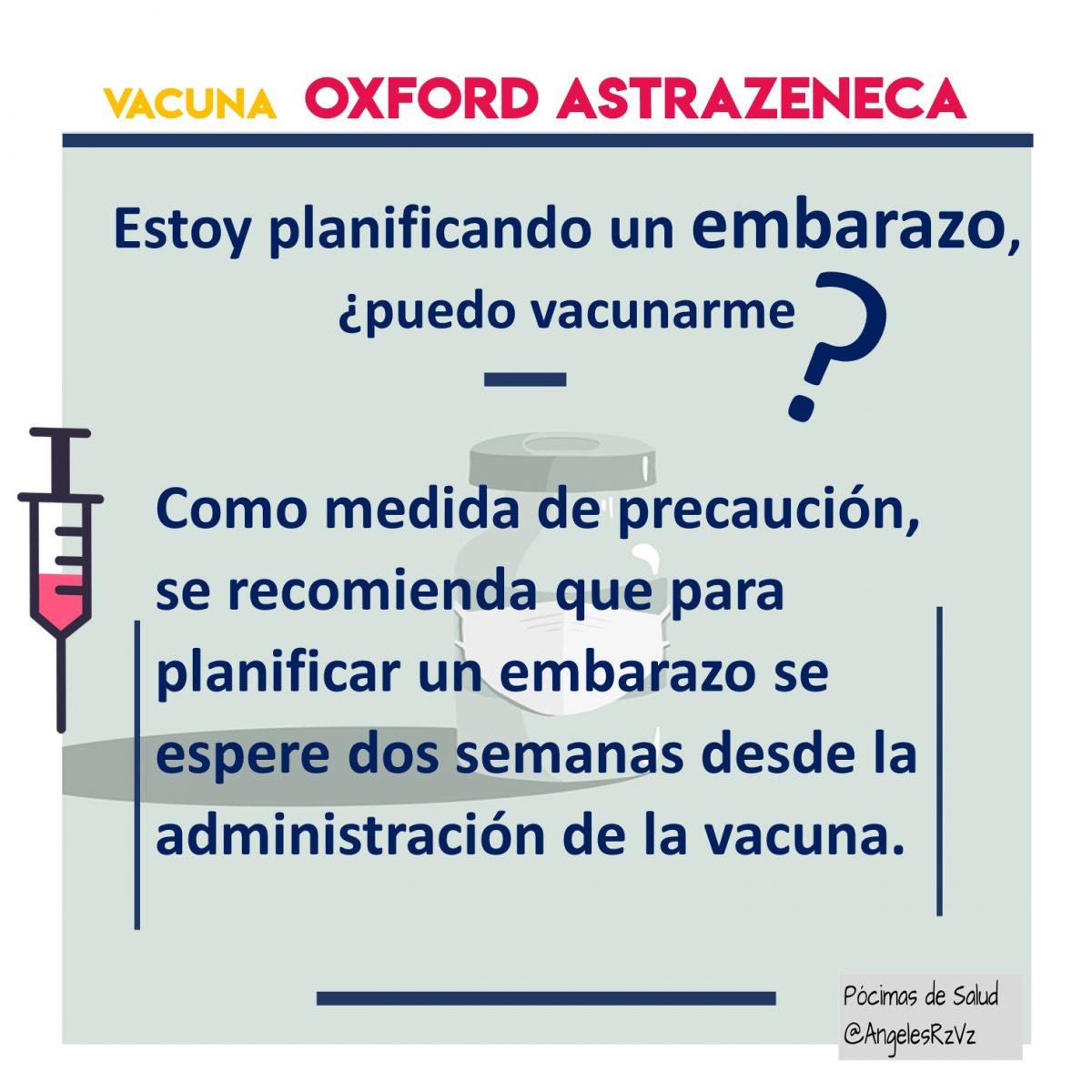 planificar embarazo y vacuna astrazeneca