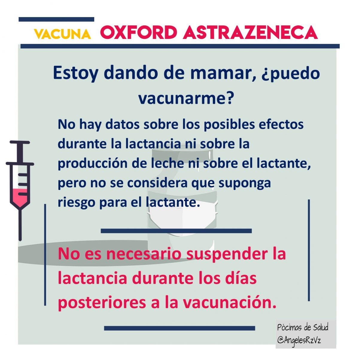 lactancia y vacuna covid19