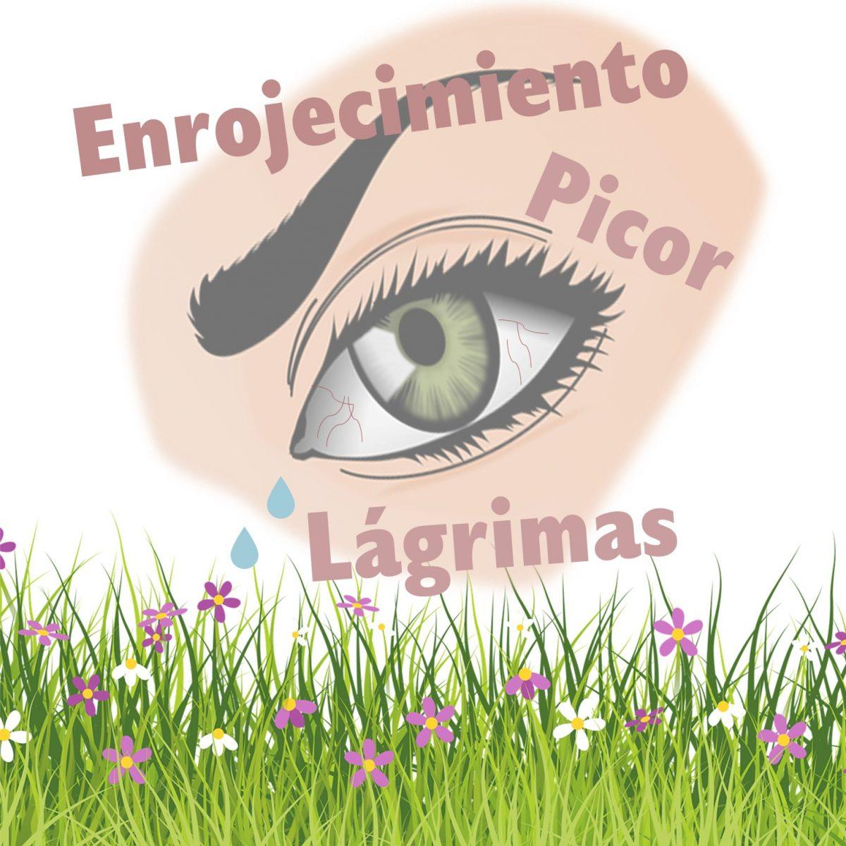 síntomas rinitis alérgica ojos
