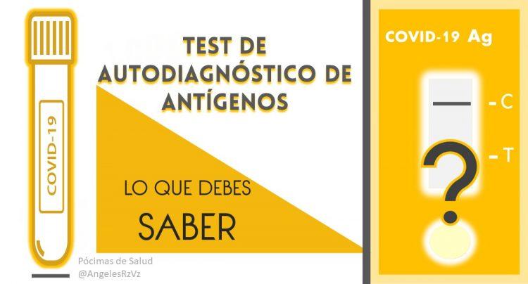 Test autodiagnóstico antígenos lo que debes saber