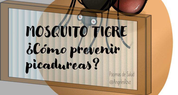 mosquito tigre como prevenir picaduras